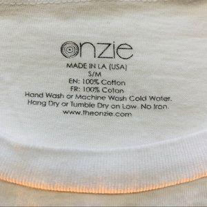 """Onzie Tops - Onzie """"Namaste"""" Crop Top"""